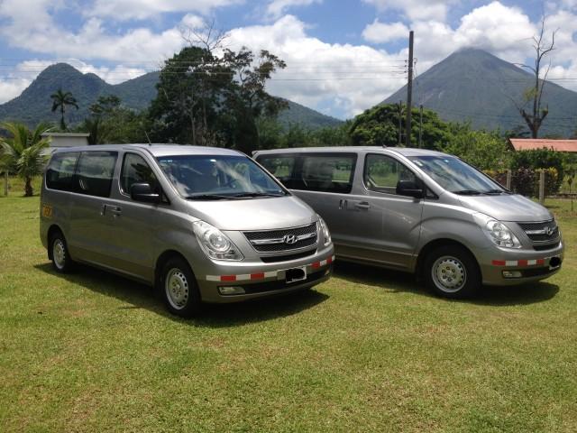 Costa Rica: privétransfer naar Alajuela luchthaven naar Fortuna