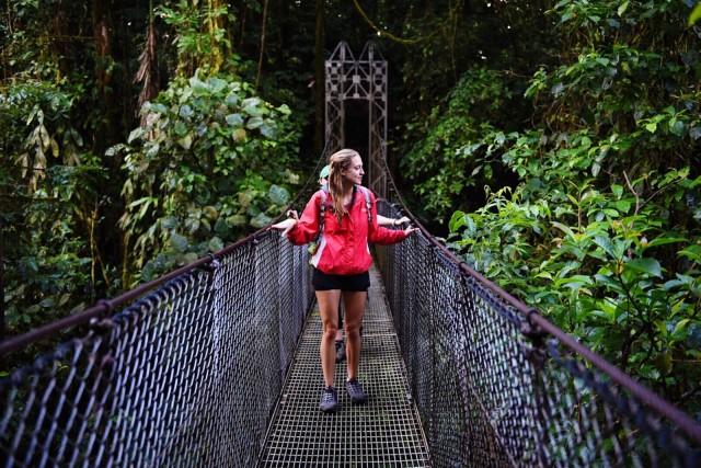 Tour naar de Arenal, La Fortuna-waterval en warmwaterbronnen