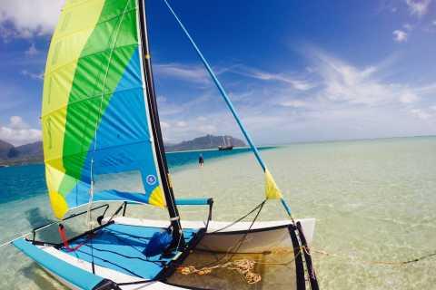 Kane'ohe Bay Hobie Cat Sailing and Snorkel Adventure