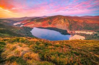 Ab Dublin: Nationalpark Wicklow Mountains in der Kleingruppe