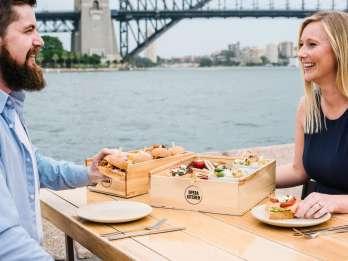 Sydney Opera House: Führung und Probierteller mit Hafenblick