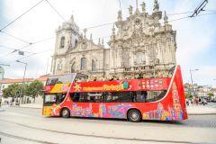 Circuito Hop-on Hop-Off do Porto: Bilhete de 1 ou 2 Dias
