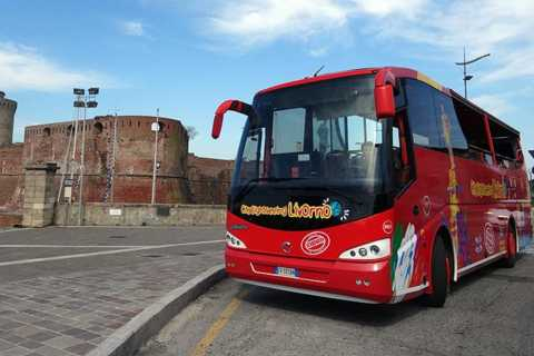 Livorno: 24-Hour Hop-on Hop-off Bus Ticket