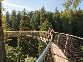 Vancouver: Selbstgeführte Tour zur Capilano Hängebrücke