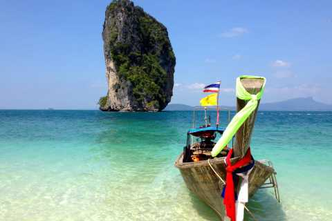 Railay: 4 Islands Sunset & Night Snorkel