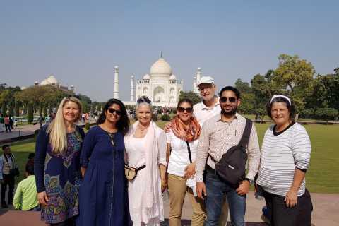 Tour del gruppo Taj Mahal da Delhi
