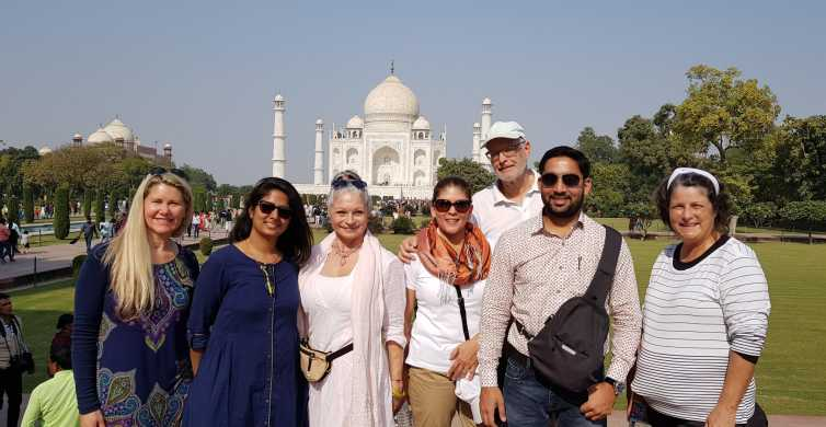 Excursão em grupo ao Taj Mahal saindo de Delhi