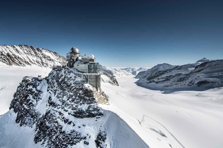 Ab Basel: Private Tagestour zum Jungfraujoch