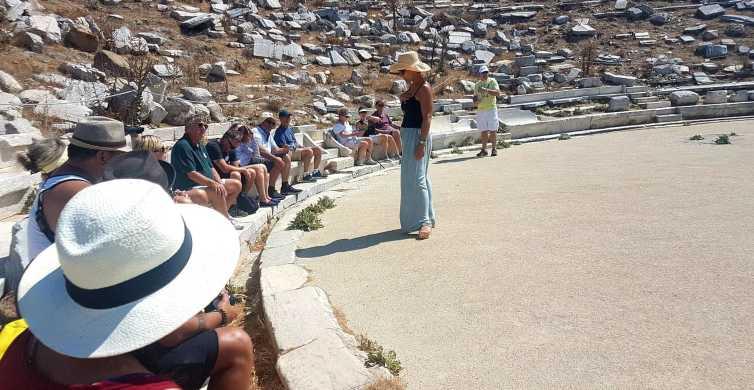 From Mykonos: Ancient Delos Tour