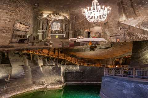 From Krakow: Wieliczka Salt Mine Small Group Guided Tour
