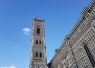 Giottos Glockenturm und die Kathedrale von Florenz