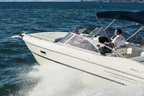 Private Capri Boat Tour With Fiart 27ft Amber