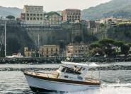 Sorrento: Private Punta Campanella Reserve und Capri Cruise