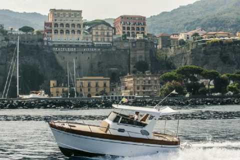Sorrento: Private Punta Campanella Reserve and Capri Cruise