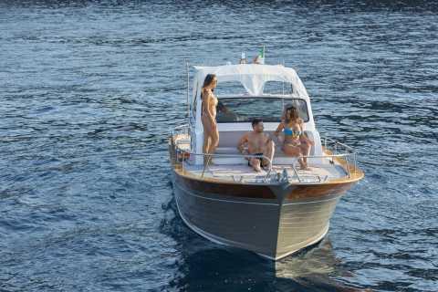 Sorrento: Private Capri Island Boat Tour with Blue Cave Stop