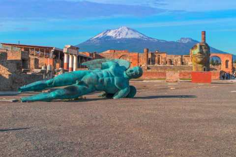 Pompeii: Ruins & Archaeological Museum Tour from Rome