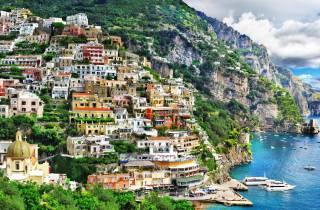 Von Rom: Privater Tagesausflug an die Amalfiküste mit dem Auto