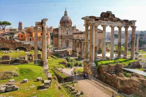 Rome: 3-Hour Colosseum and Ancient Rome Private Tour