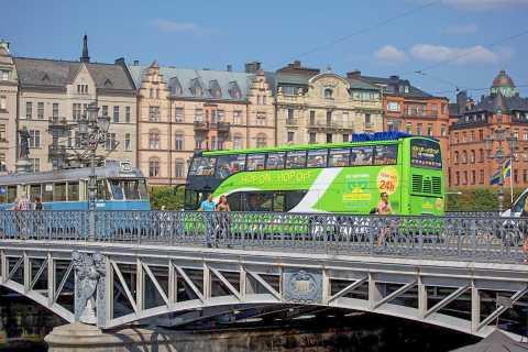 Stockholm: biljett till hop-on hop-off-buss