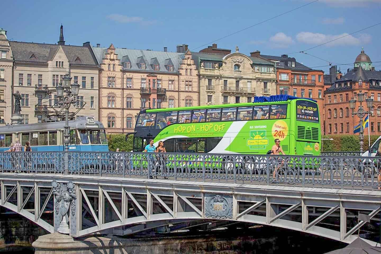 Stockholm: Hop-On/Hop-Off-Bus