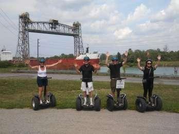Niagarafälle, Kanada: Welland Canal Segway-Tour