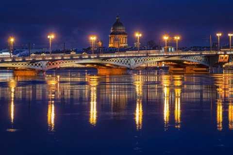 St. Petersburg: Drawbridges Night Cruise with Live Conсert