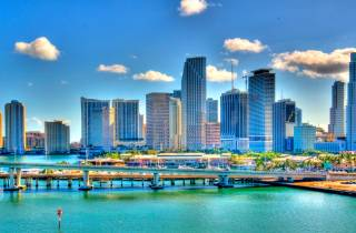 Ab Orlando: Miami South Beach und Everglades