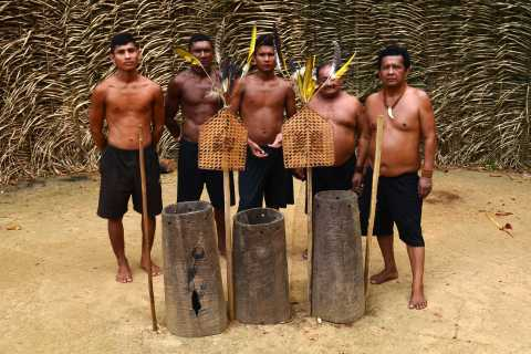 From Manaus: Tucandeira Ants Tribe Ritual Full Day Trip