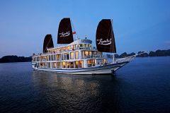 Hanói: Cruzeiro de Luxo de 2 Dias Baías de Ha Long e Lan Ha