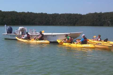 Marco Island: Boat Assisted Kayak Eco Tour