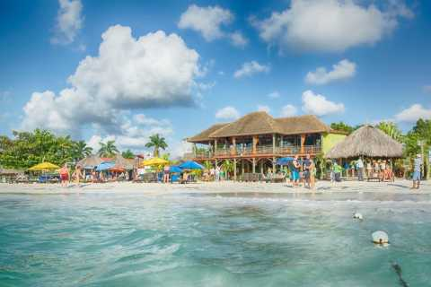Negril Beach and Ricks Cafe
