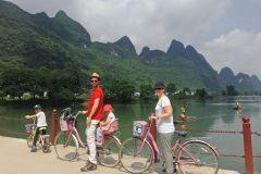 Passeio de bicicleta privada: Yangshuo Campo