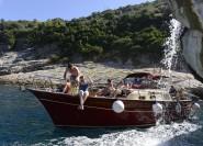 Ab Rom: Hochgeschwindigkeitszug-Transfer & Capri-Bootstour