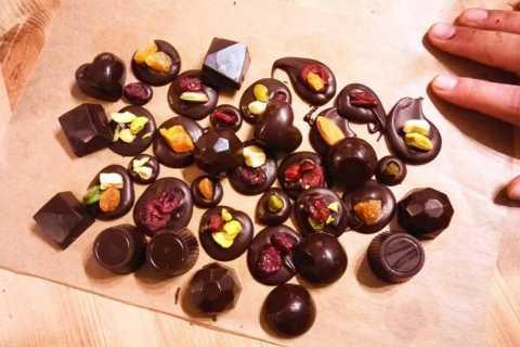 Bruxelles: atelier de fabrication de chocolats