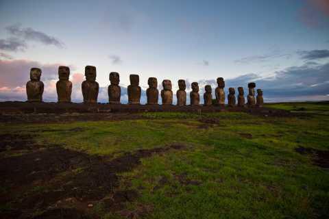 Easter Island: Rapa Nui Full Day Tour to Anakena Beach