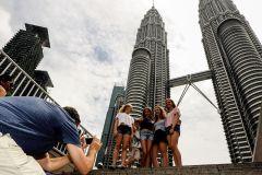 Tour privado pela cidade de KL com Petronas Twin Towers e Batu Caves