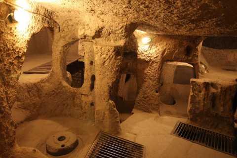 Derinkuyu Underground City and Ihlara Valley Cappadocia Tour