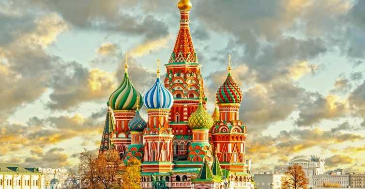 Moscou: visite privée cathédrale St-Basile et place Rouge