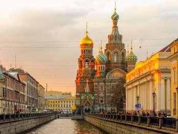 St. Petersburg: Sightseeing-Tour Festung & Auferstehungskirc