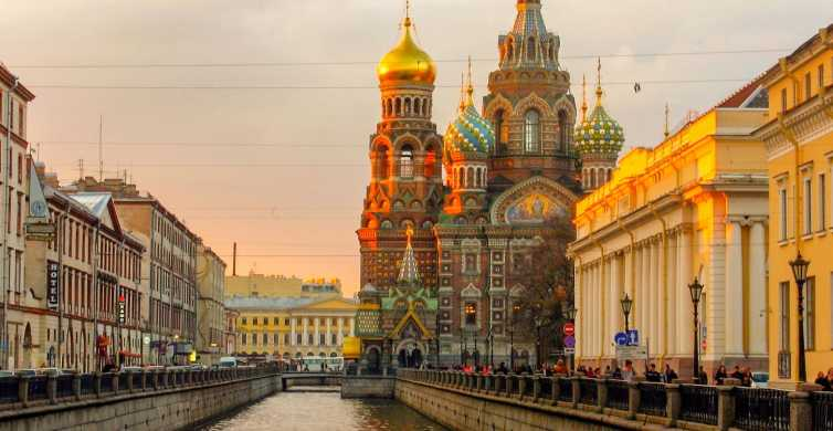 St. Petersburg: Sightseeing Tour to Fortress & Spilled Blood