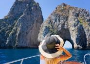 Küste von Sorrent & Capri: Tagestour mit dem Boot