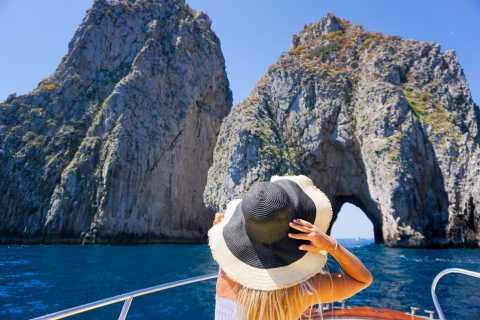 Sorrento Coast and Capri Full-Day Boat Tour