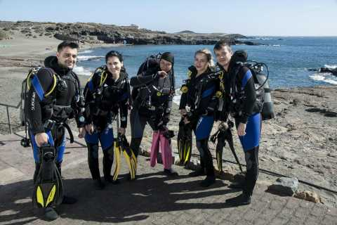 South Tenerife: Beginners Scuba Diving Experience