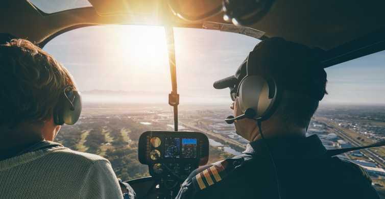 ニューヨーク市:ヘリコプター操縦体験