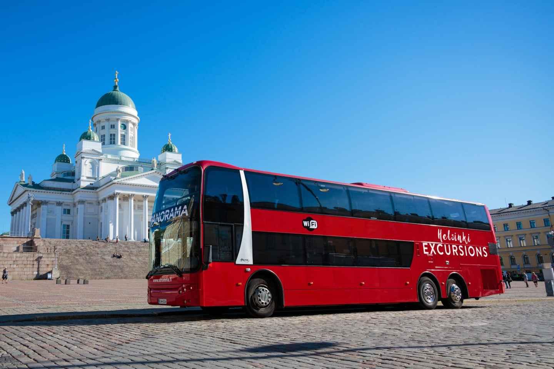 Helsinki: Panoramafahrt im Bus