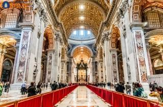 Vatikanische Museen, Sixtinische Kapelle und Petersdom: Tour