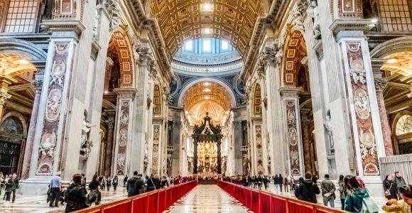 Tour of Vatican Museum, Sistine Chapel & St Peter's Basilica