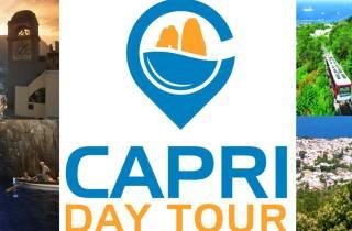 Capri: Tagesausflug mit Blauer Grotte, Seilbahn & Mittagesse