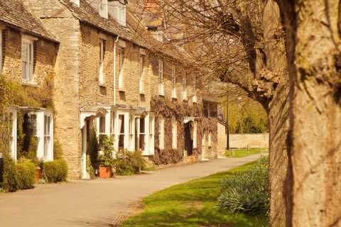 Southampton para Londres via Downton Abbey e Cotswolds