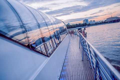 Moskau: Luxuriöse Bootstour mit Mahlzeit-Option